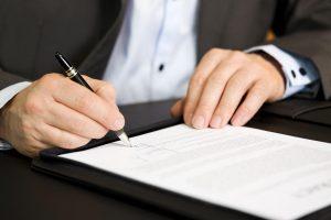 Фото: Подписание документов
